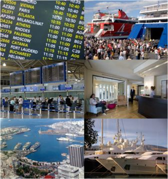 Private transfers From Athens Airport/port
